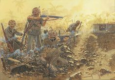 Clearing Afetna Point, Saipan, 16 June 1944
