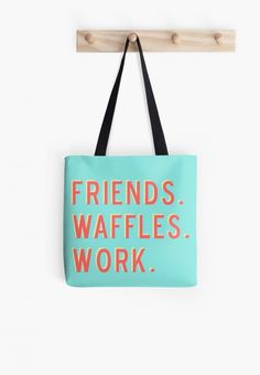 Get your priorities straight with this tote.