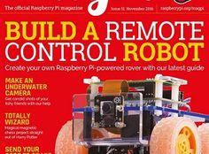 Este mes en MagPi nos enseñan a construir un robot a control remoto #raspberrypi #robotics #robots #robotica
