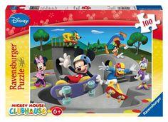 Ravensburger Puzzle - Disney Mickey Mouse Clubhouse XXL (100Pcs) (10871)  Manufacturer: Ravensburger Enarxis Code: 016043 #toys #puzzle #Ravensburger #Disney #Mickey