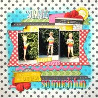 A Project by Missy Whidden from our Scrapbooking Gallery originally submitted 06/29/13 at 07:38 AM