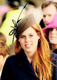 Tea Time at Winter Palace:  Princess Beatrix of York