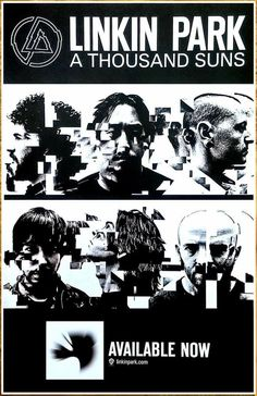 A Thousand Suns, Linkin Park Logo, Club Poster, Blind Love, Chester Bennington, Movie Posters, Fan, Logos, Film Poster