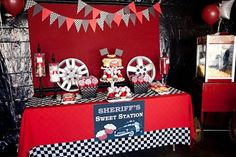 Disney's Cars Boy's Birthday Party Ideas