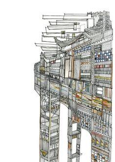 Amazing Illustrations by Nigel Peake