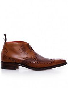 Jeffery West Men's Shoes Flashman Chukka Boots Tan
