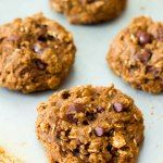 Cookies for breakfast? Genius! Because when you start your day off with dessert... it makes your day that much sweeter! oatmeal raisinet #healthy #wheatrecipes