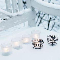 Such a beautiful winter day here in Copenhagen today. #pendanttealightholder…