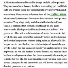 If you want to win a Pisces heart never hide your true feelings.that gets a Pisces everytime Star Pisces, Aquarius Pisces Cusp, Aquarius Rising, Astrology Pisces, Pisces Woman, Pisces Girl, Pisces Quotes, Pisces Facts, Quotable Quotes