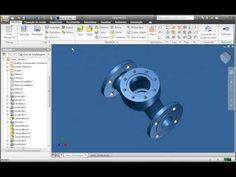 Autodesk Inventor 2010 - Tecnologia Adaptive - YouTube
