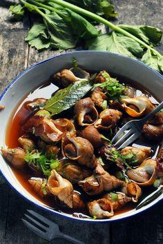 snails... Escargots sounds so much nicer