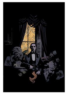 H.P. Lovecraft by Mike Mignola *