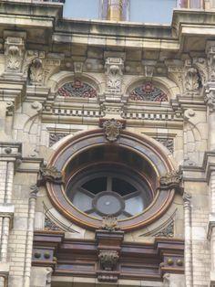 PALACIO DE AGUAS CORRIENTES - AVENIDA CORDOBA-. Buenos Aires, argentina.