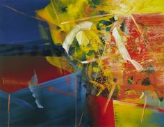 Tisch Table 1982 225 cm x 294 cm Catalogue Raisonné: 508 Oil on canvas, Gerhard Richter Abstract Expressionism, Abstract Art, Abstract Paintings, Gerhard Richter Painting, Abstract Pictures, Art Friend, Colorful Drawings, Western Art, Oil On Canvas