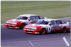 Tom Walkinshaw / Win Percy TWR Rover Vitesse Touring Car. 1986 RAC Tourist Trophy ETCC Silverstone.