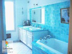 حمامات باللون الازرق
