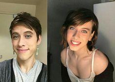 Male To Female Transgender, Transgender People, Transgender Girls, Transgender Before And After, Chica Punk, Male To Female Transformation, Feminized Boys, Brave Women, Gorgeous Women