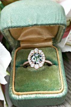 Moissanite Engagement Rings That Sparkle Like A Diamond ❤ See more: http://www.weddingforward.com/moissanite-engagement-rings/ #weddingforward #bride #bridal #wedding
