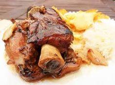 ¿Os atrevéis con un plato típico Alemán?. CODILLO DE CERDO A LA ALEMANA. Sólo en www.cocinafacilconcurro.blogspot.com