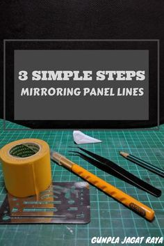 3 Simple Steps Mirroring Panel Lines