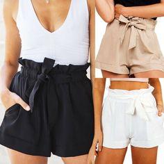 220 Ideas De Shorts Pantalones Cortos Mujer Pantalon Corto Mujer Pantalones Cortos Elegantes Pantalones Cortos Vaqueros