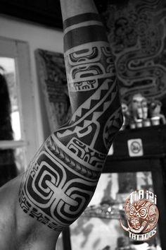 Manches polynésiens / Tatouages Arm - Po'oino Yrondi Po'oino Yrondi