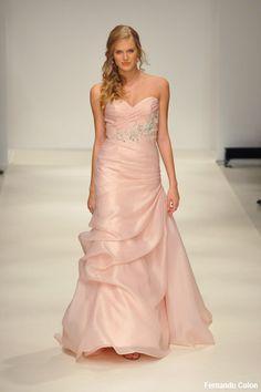 Luv this! Pink #wedding #dress
