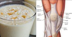 Smoothie for Stronger Knee Ligaments and Ache-free Joints.Smoothie for Stronger Knee Ligaments and Ache-free Joints.Smoothie for Stronger Knee. Oat Smoothie, Smoothie Recipes, Detox Smoothies, Detox Drinks, Healthy Drinks, Healthy Recipes, Healthy Food, Delicious Recipes, Ligaments And Tendons