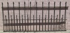 Antique wrought iron fencing for the garden. #materialsunlimited
