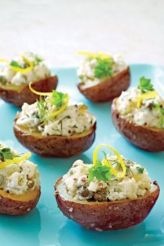 Easter Appetizers: Deviled Potatoes