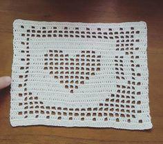 Crochet Butterfly Pattern, Crochet Bookmark Pattern, Crochet Bookmarks, Crochet Doily Patterns, Granny Square Crochet Pattern, Crochet Squares, Crochet Designs, Crochet Mat, Baby Afghan Crochet