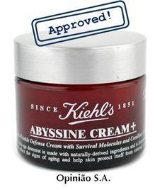 Kiehl's – Creme noturno Abyssine  http://www.opiniaosa.com.br/2012/04/12/kiehls-creme-noturno-abyssine/