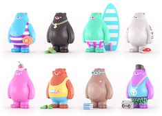 Bears collectible art toys designs
