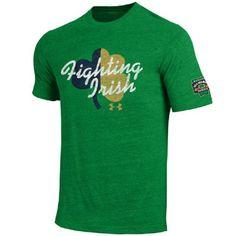 8a73235e77c Amazon.com   Under Armour NCAA Notre Dame Fighting Irish-2015 Shamrock  Series T