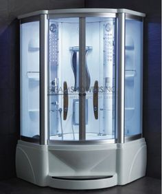 48 x 48 x 89 - steam shower whirlpool tub combo