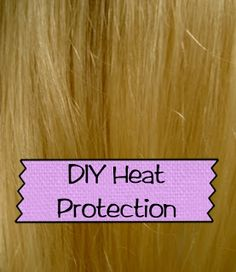 Beauty Blog: DIY Heat Protection Spray for Hair Recipe