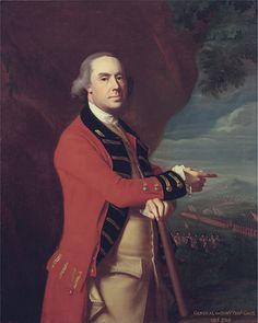 General Thomas Gage, oil painting by John Singleton Copley circa 1788. #americanrevolution