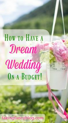 All my tips and tricks for how I planned a dream wedding on a tight budget. From the wedding dress to the reception food, my tips will save you thousands!