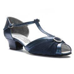 Freed GARNETSL Damen Standard Swing Balboa Boogie Lindy Tanz Schuhe blau 013827637d
