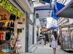 side street fa yuen street Mongkok Hong Kong - Laugh Travel Eat