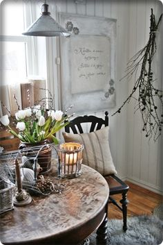 VIBEKE DESIGN - I love this little setting so much!