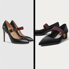 *COPY PASTE* Gucci heels (left https://www.gucci.com/es/es/pr/women/womens-shoes/womens-pumps/sylvie-leather-pump-p-475085CQXS01060?utm_content=buffer89336&utm_medium=social&utm_source=pinterest.com&utm_campaign=buffer) VS Uterqüe heels (right https://www.uterque.com/es/calzado/zapatos-planos/sal%C3%B3n-de-piel-tira-c48011p7918729.html?color=040&listId=parrilla_woman%2Ffootwear%2Fflat_shoes&listPosition=1&utm_content=buffer937da&utm_medium=social&utm_source=pinterest.com&utm_campaign=buffer)…
