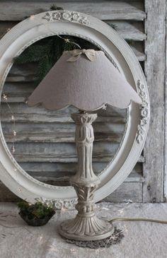 Lampe et son abat jour Les couleurs de brocantine