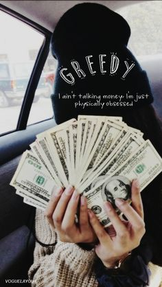 Wallpaper Lockscreen Ariana Grande Lyrics (Greedy)