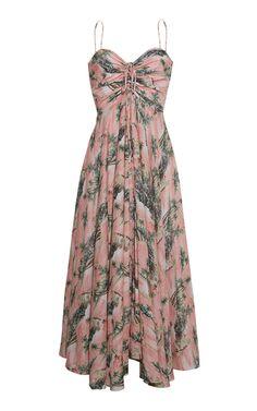 Shop the Maidstone Voile Midi Dress by Cara Cara and more new designer fashion on Moda Operandi.