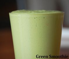 Green Smoothie (I'd leave out the protein powder for kids)