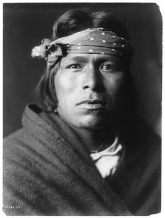 An Acoma man  photo by Edward S. Curtis 1905