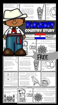 Kids will love learning about Paraguay with these Free Printable Paraguay For Kids Emergent Reader Books. The country of Paraguay is in the heart of South America. They speak Guaraní and Spanish. Although they are landlocked, it has a large navy. Thanks to the Guairá Falls, it is known as the land of water. This Paraguay Printable for kids will help kids learn about their way of life, the culture, landmarks and interests. They will also learn about some delicious Paraguay foods. This is a…