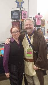 Myself as Cecil Baldwin, with my friend JT as Obi Wan at Boston Comic Con.