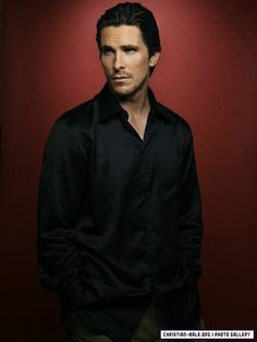 One of my fav pics of Christian Bale. This hangs up at my desk for me to see at work every day <3